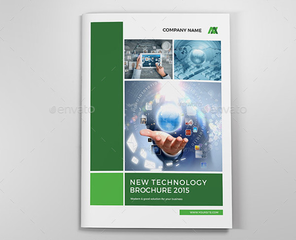 corporate technology brochure design
