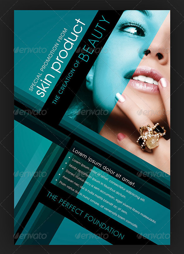 Cosmetic Flyer For Business