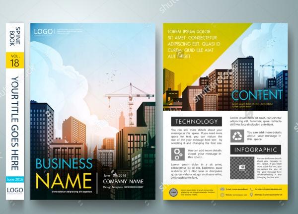 Cover Book Portfolio Brochure