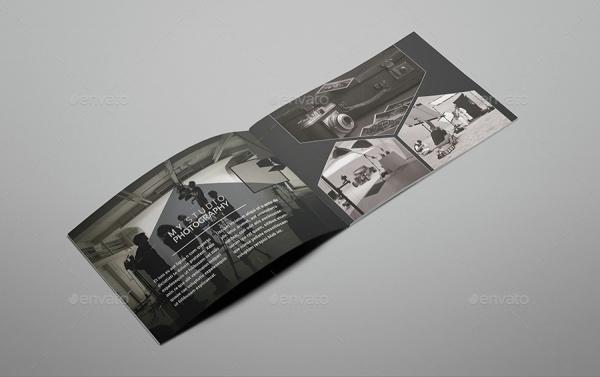 Creative Portfolio Photography Brochure