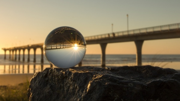 Crystal Ball Sunrise Photography