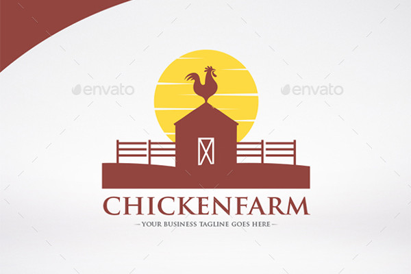 Cuisine Chicken Farm Logo