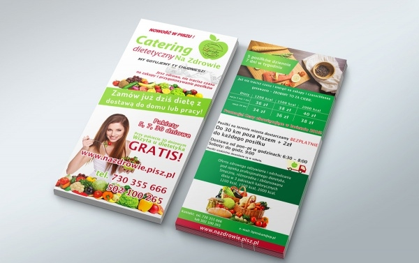 Diet Catering DL Brochures