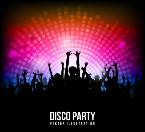 Disco Party poster Brochure