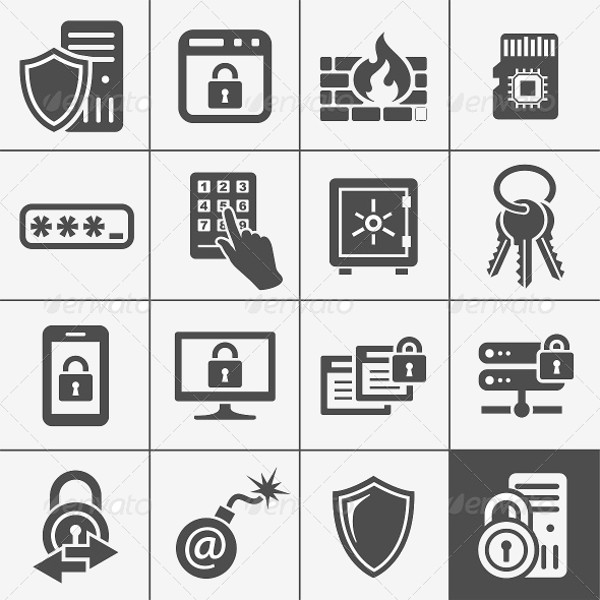 Download IT Security Icons