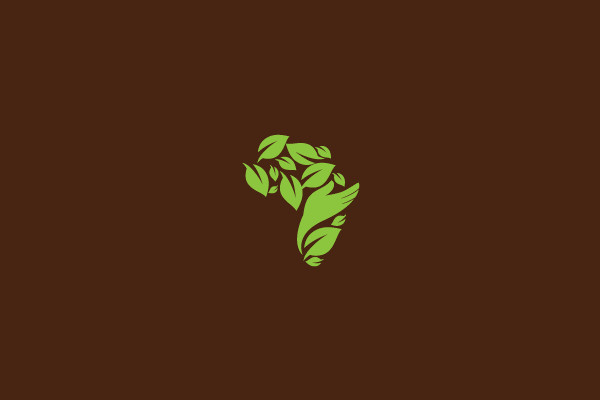 Earth Farming Hand Logo