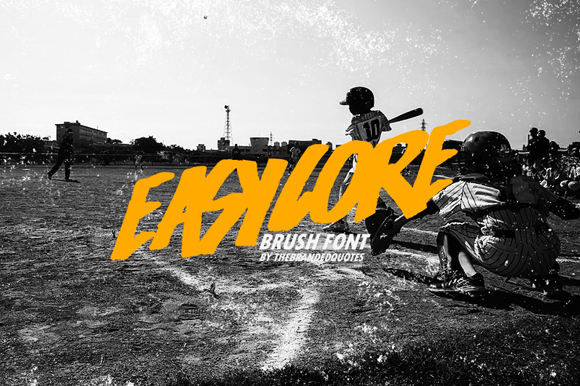 Easycore Inspired Font