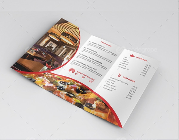 Eat & Gossip Trifold Brochure