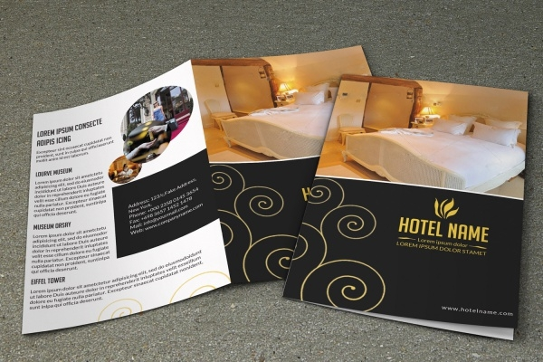 Editable Hotel Brochure Design