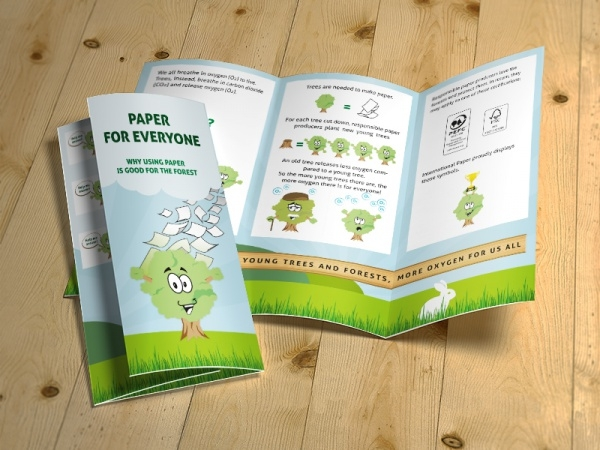 Editorial Kindergarten Brochure Design