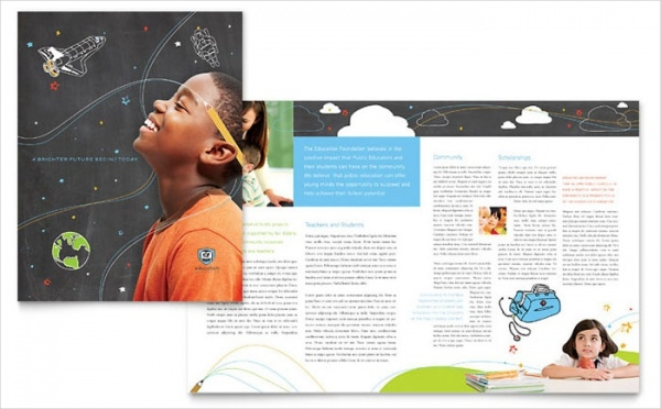 Education Brochure Template 25 Free Psd Eps Indesign Format Start
