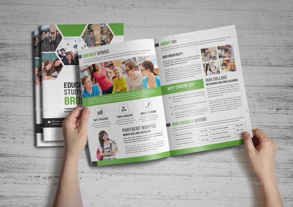 22  education brochures