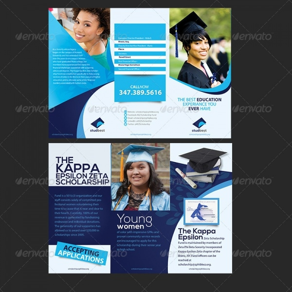 Educational A4 Brochure Design