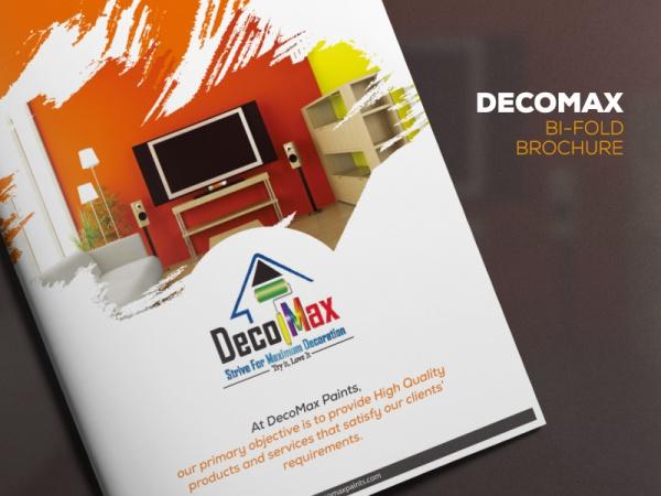 Elegant Decomax Bifold Brochure