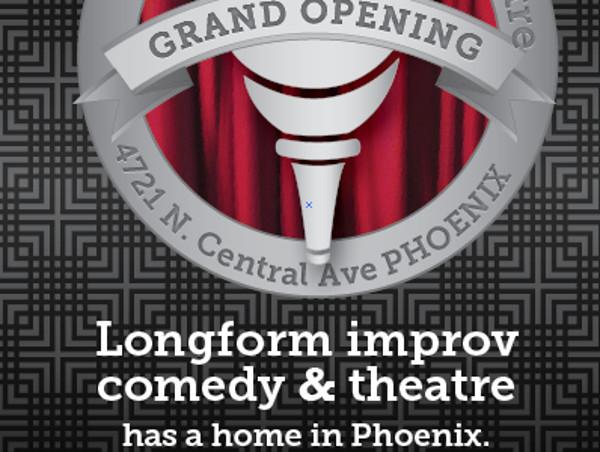 Elegant Grand Opening flyer