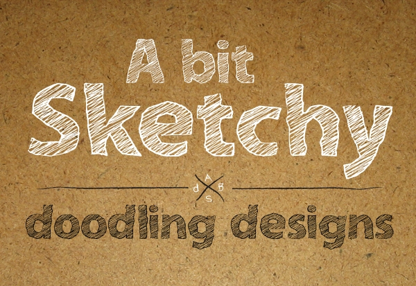 Excellent Bit Sketchy Font