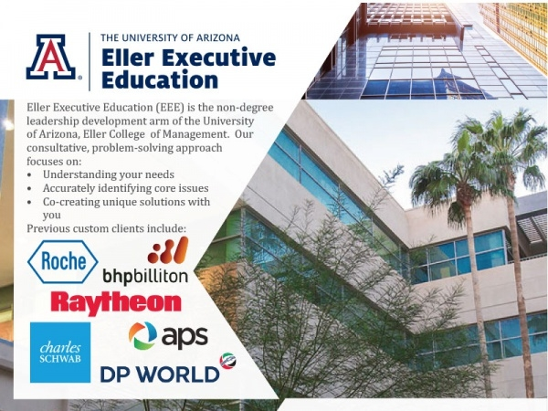 Executive Education - One Page Brochure