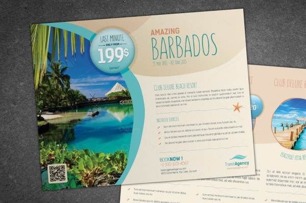 Exotic Tropical Travel Flyer
