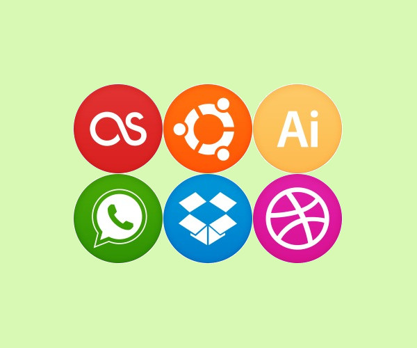 Extravagant Circle Icons