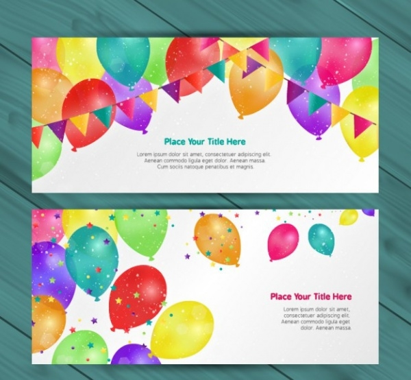 Fabulous Birthday Party Brochure