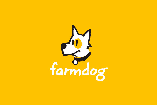 Farm Dog Logo Design