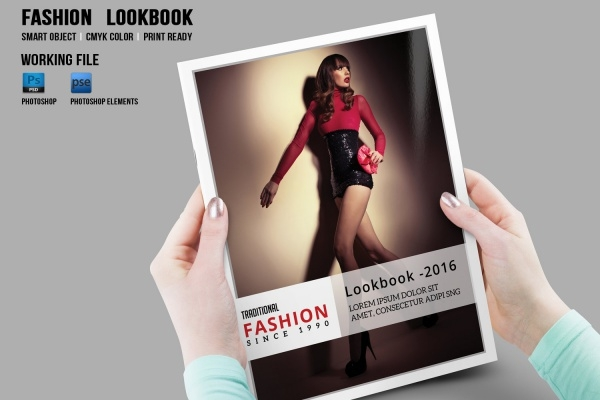 Fashion Photography Brochure Design