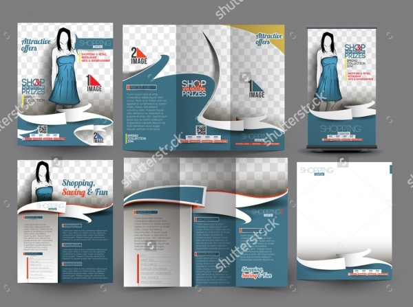 Fashion Store Business Brochure
