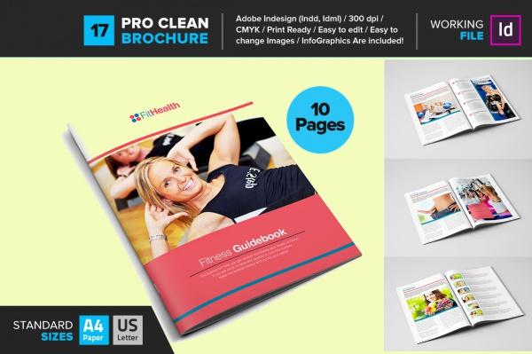 Fitness Guide Brochure