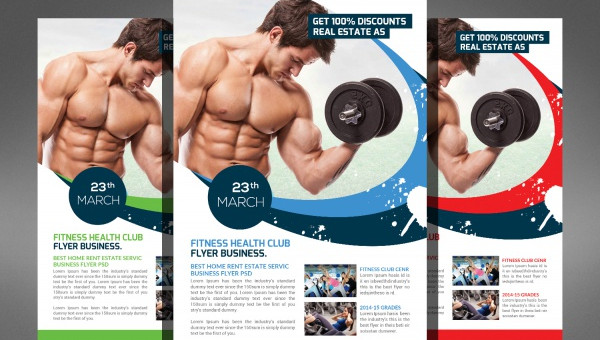 Fitness Brochures  Editable Psd Ai Vector Eps Format Download