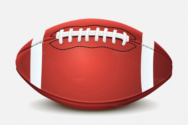 football ball isolated texture