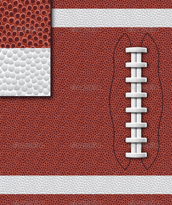 Football Fabric Texture