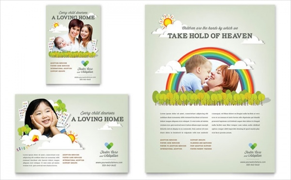 Foster Care & Adoption Flyer