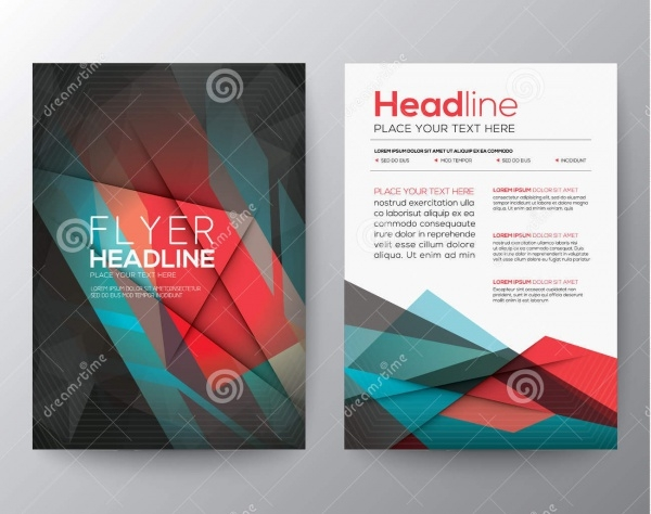 Geometric Flyer Layout Template