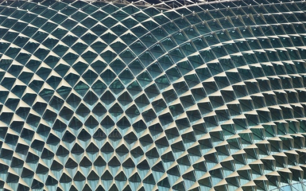 Glass Tails Background Pattern