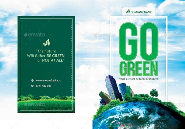 Go Green Bi-Fold Brochure