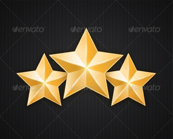 Gold Star Photoshop Textures