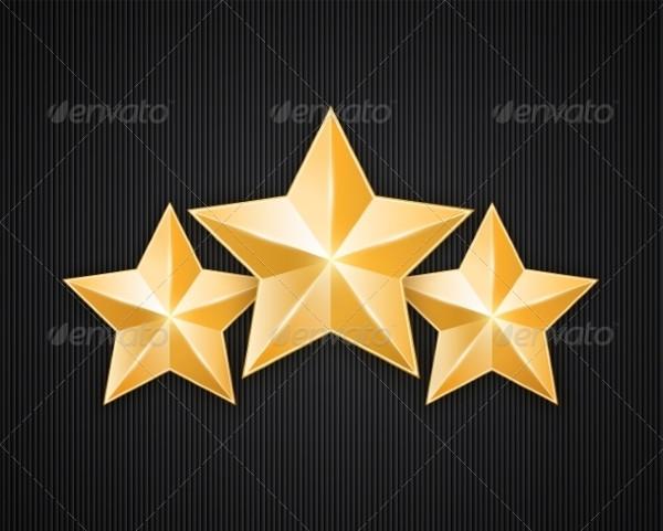 Gold Star Photoshop Textures