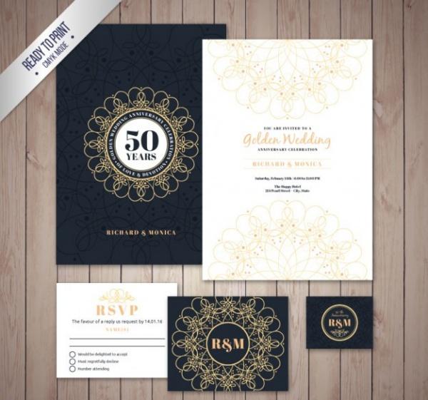 Golden Wedding Celebrationn Flyer