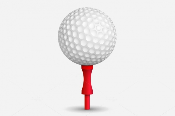 Golf Ball Vector Design