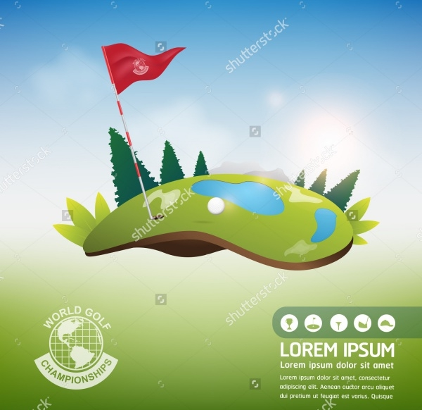 Golf Tournament Vectors
