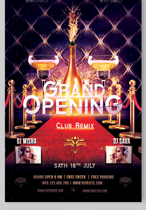 20+ Grand Opening Flyers - Psd, Vector Eps, Jpg Download