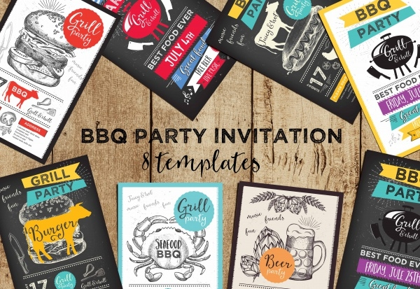 Grand invitation Party Brochure