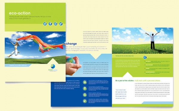 Green Living & Recycling Brochure