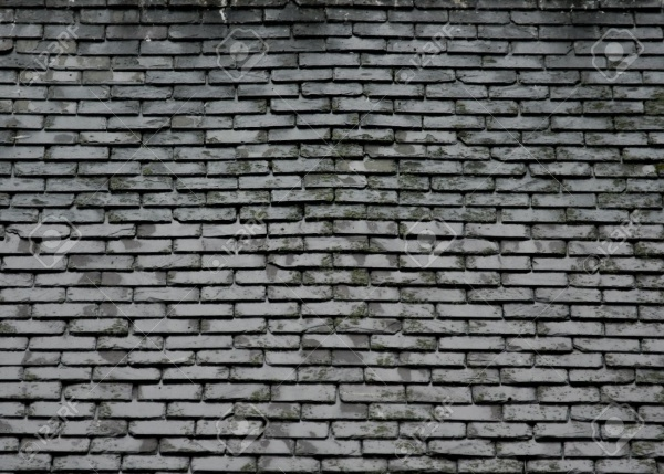 Grey Slate Roof Texture