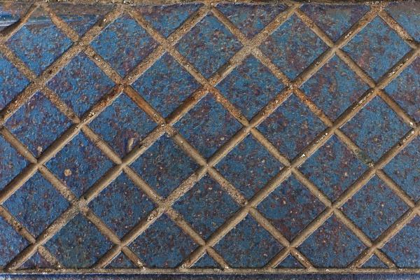 Grooved Blue Steel Texture
