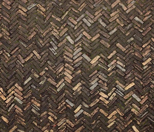 Grungy herringbone texture