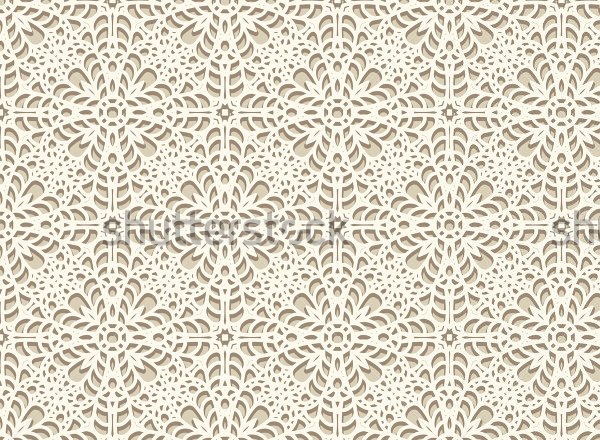 Handmade Lace Pattern Vector