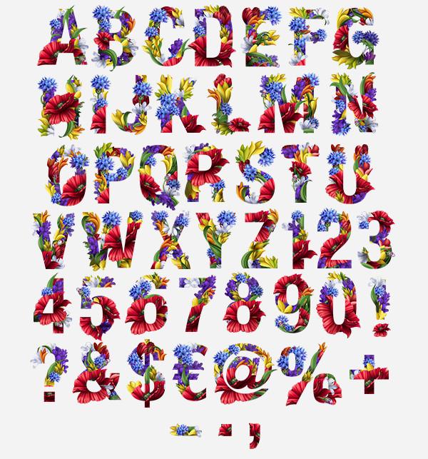 Handmade Unique Font