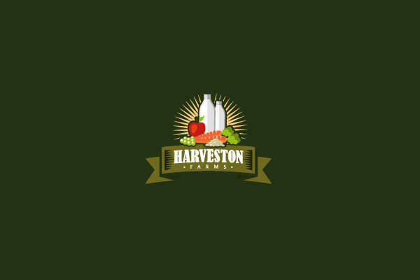 Harveston Dairy Farm Logo