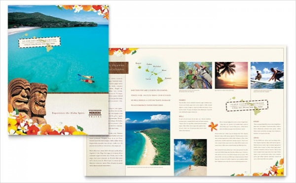 Hawaii Vacation Resort Brochure